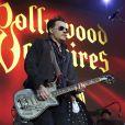 Johnny Depp s'est produit sur scène avec son groupe, les Hollywood Vampires.
