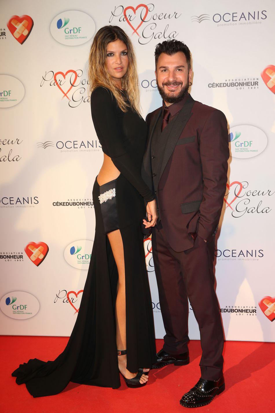 Michaël Youn et sa compagne actuelle Isabelle Funaro, l'ex de Pascal Obispo.