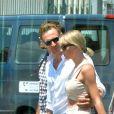 Actuellement en séjour à Rome, le couple s'est offert un tour en hélicoptère au-dessus de la ville.
