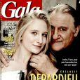 Gérard Depardieu présente sa petite-fille en couverture de  Gala .