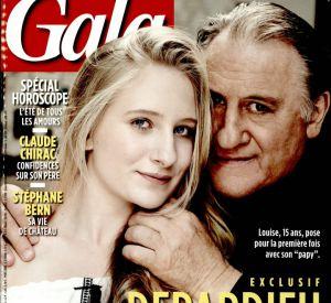 Gérard Depardieu présente sa petite-fille en couverture de Gala.