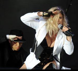 Fergie était sur la scène du festival Rock in Rio à Lisbonne le 26 mai dans une tenue assez hot !