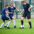 Joueuse de foot pro, Laurence Boulleau ne se sent jamais aussi forte que lorsqu'elle se trouve sur le terrain.