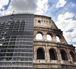 Le Colisée de Rome rénové par Tod's.