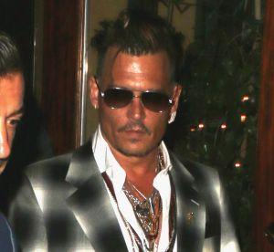Johnny Depp : entouré de ses enfants pour une sortie en famille au restaurant