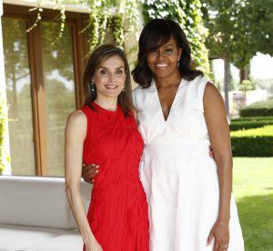 Letizia d'Espagne et Michelle Obama : rencontre stylée de deux femmes de pouvoir