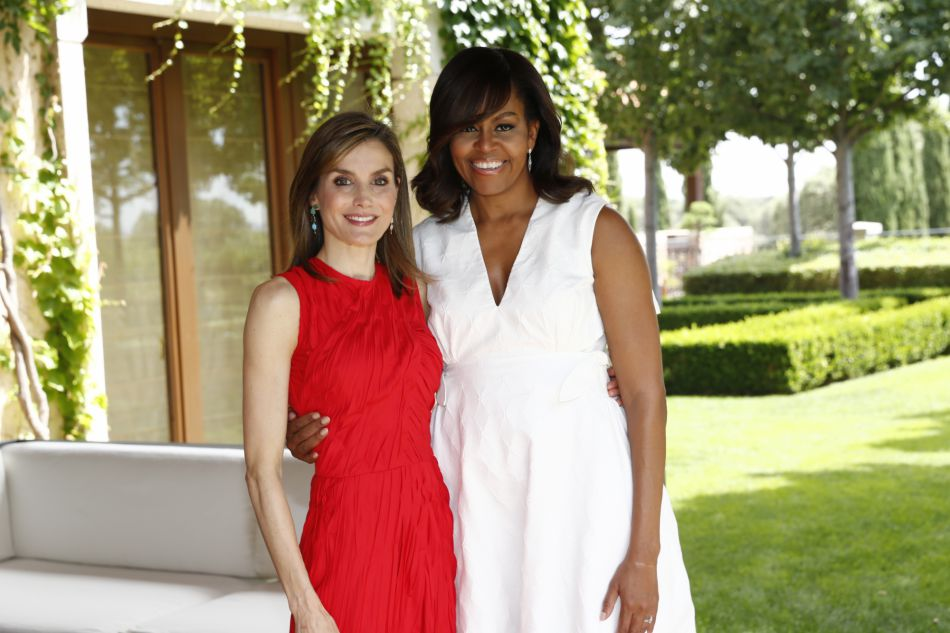 Letizia d'Espagne et Michelle Obama : rencontre au sommet entre deux femmes de pouvoir.