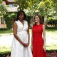 Letizia et Michelle Obama se sont rencontrées pour parler d'une cause qu'elles défendent toutes les deux : l'éducation des jeunes filles dans le monde.