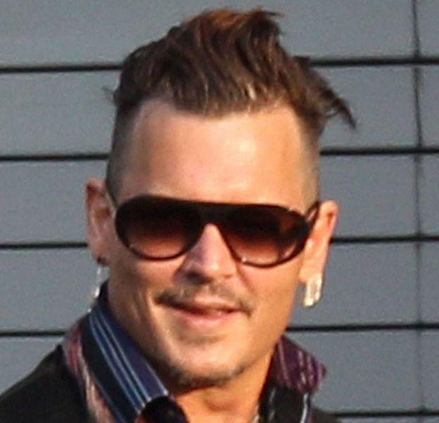 Johnny Depp était en Pennsylvanie ce vendredi 1er juillet 2016 à l'occasion d'un concert.