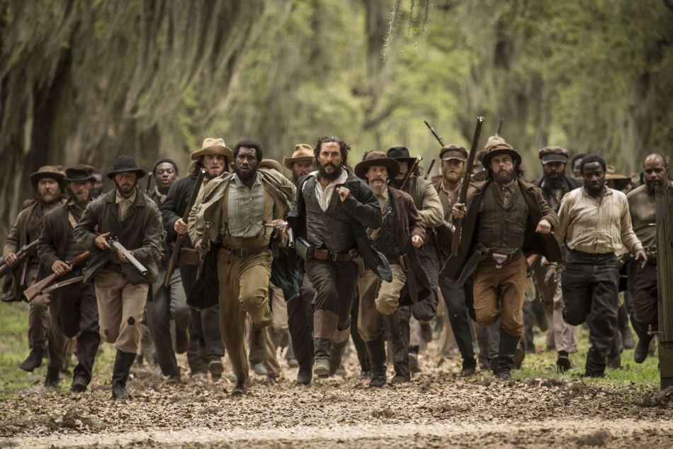 A la tête de déserteurs de l'armée sudiste, d'esclaves et de fermiers en colère,Newton Knight mène la révolte.