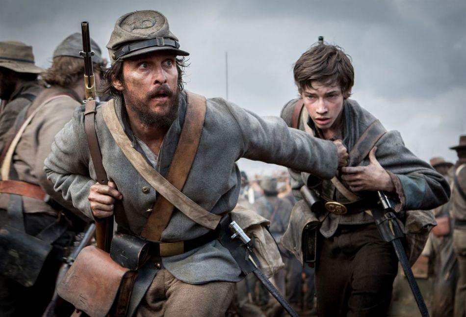 Soldat sudiste engagé dans un guerre dont il ne veut pas, Newton Knight (Matthew McConaughey) déserte quand son neveu se fait tué.