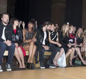 Le show était sur le podium mais il était aussi en front row avec la présence de stars triées sur le volet.