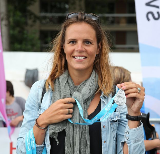 Laure Manaudou, ce week-end à l'évènement Open Swim Stars à Paris.