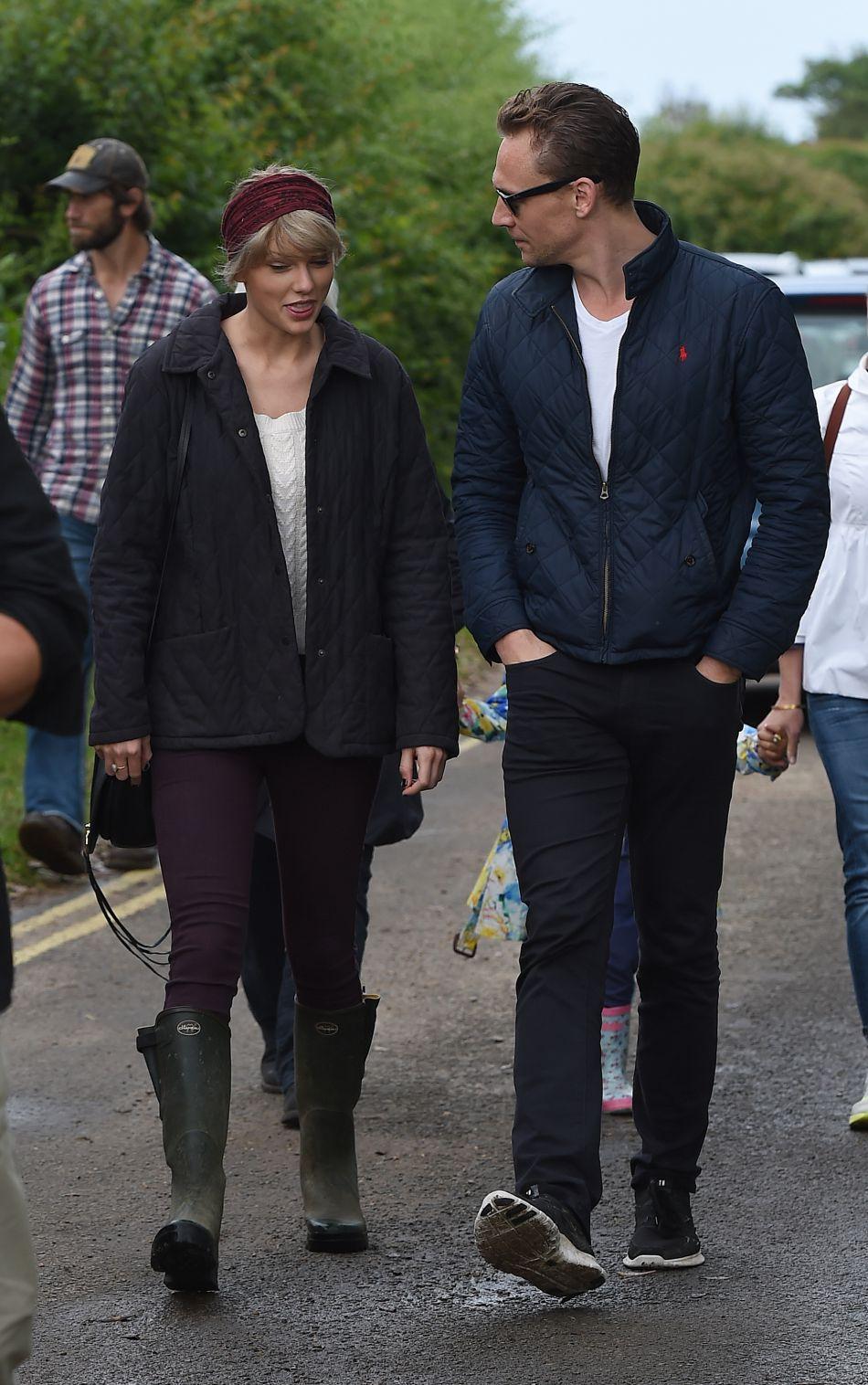Tom Hiddleston, le petit ami de Taylor Swift, était également présent lors de ce week-end.