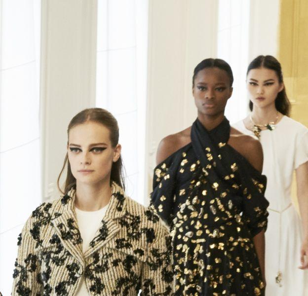 Le final du défilé Dior Haute Couture automne-hiver 2016/2017.
