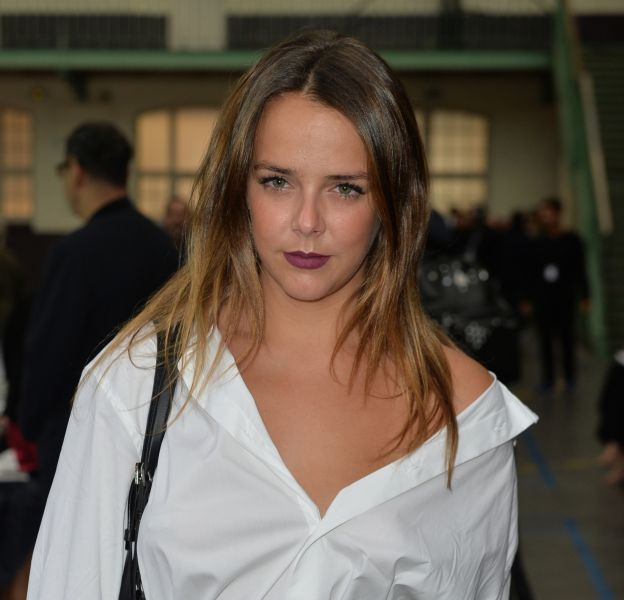 Pauline Ducruet, la fille de la princesse Stéphanie de Monaco assiste au défilé de mode John Galliano, collection prêt-à-porter Printemps-Eté 2017 à Paris, le 2 octobre 2016.