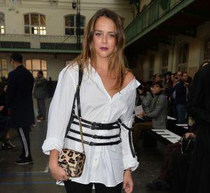 Pauline Ducruet, la fille de la princesse Stéphanie de Monaco assiste au défilé de mode John Galliano, collection prêt-à-porter Printemps-Eté 2017 à Paris, le 2 octobre 2016.