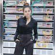 La jeune Thylane Blondeau a choisi un total look noir pour le show Chanel.