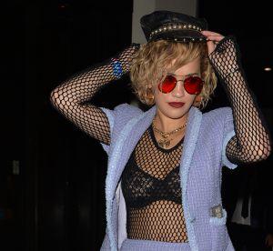Rita Ora : ultra hot en lingerie fine sur Instagram