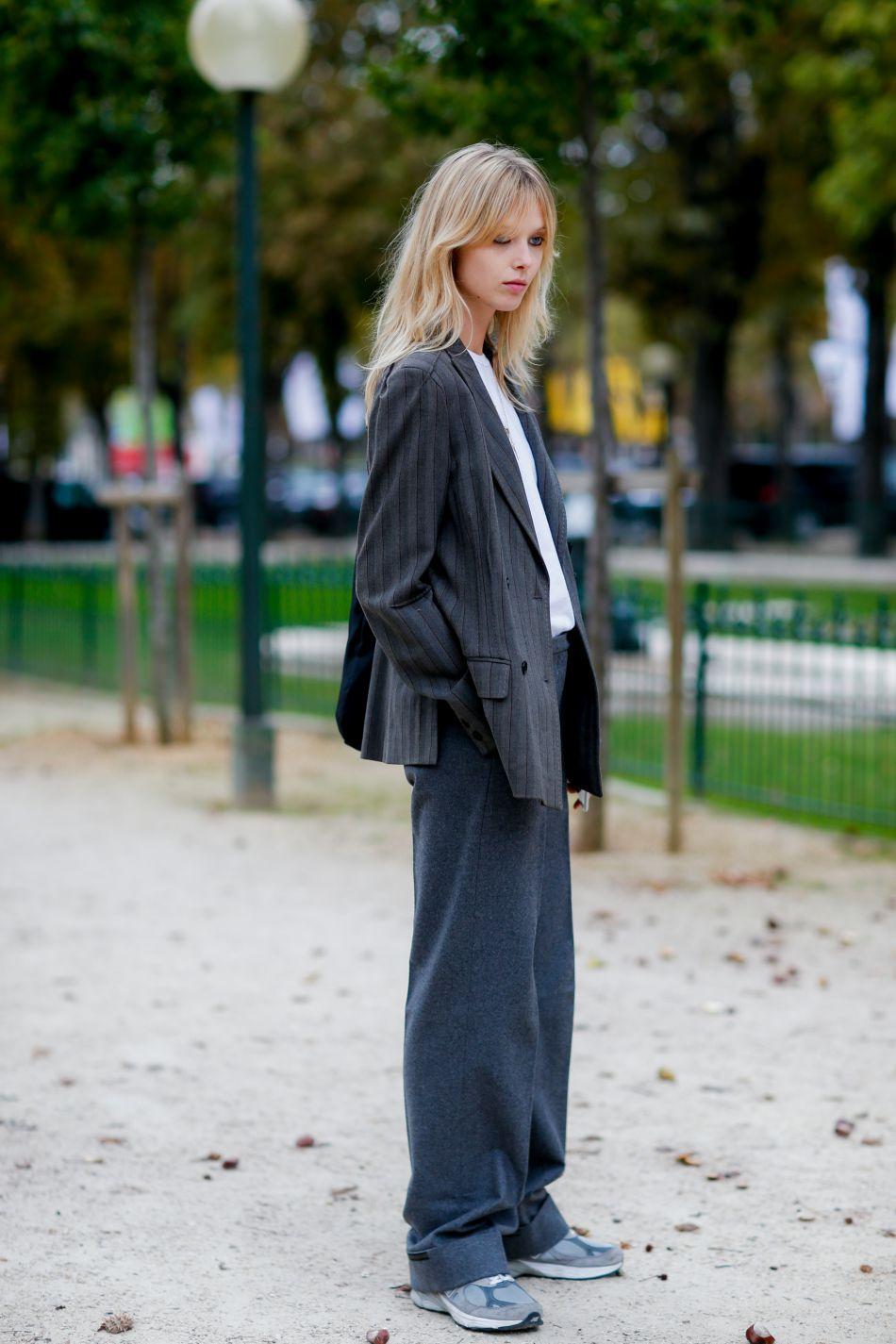 A copier ? La veste d'homme avec la pantalon large.