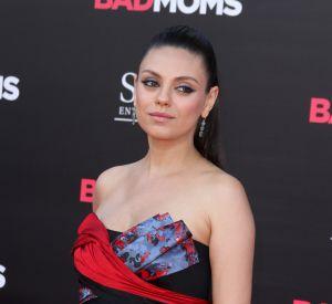 L'actrice Mila Kunis, enceinte de son deuxième enfant, un garçon.