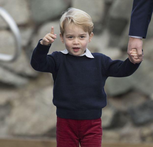 Eté comme hiver, le prince George ne porte que des shorts.