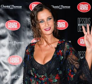 Malika Ménard : décolleté sensuel et tenue sexy pour Chantal Thomass