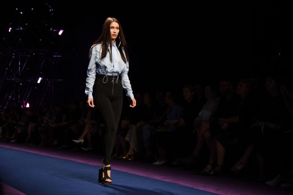 Le mannequin est rapidement devenu incontournable à la Fashion Week.