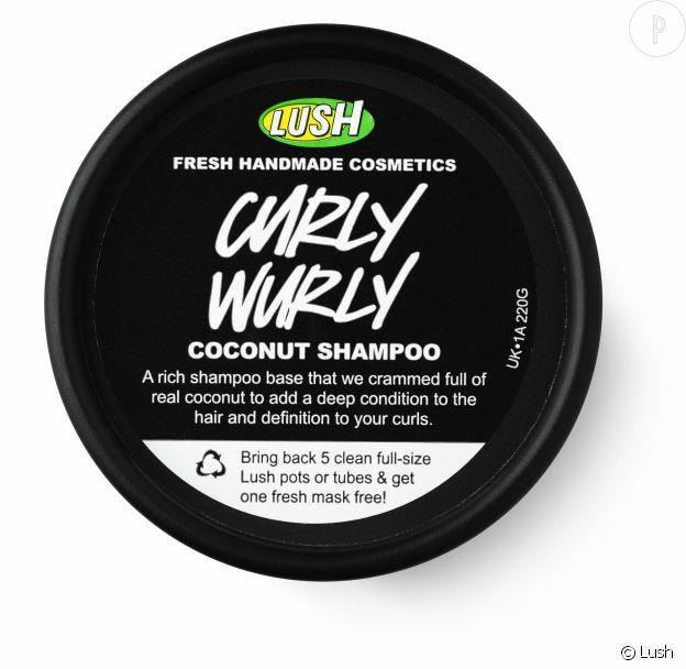 Shampoing Curly Wurly, Lush