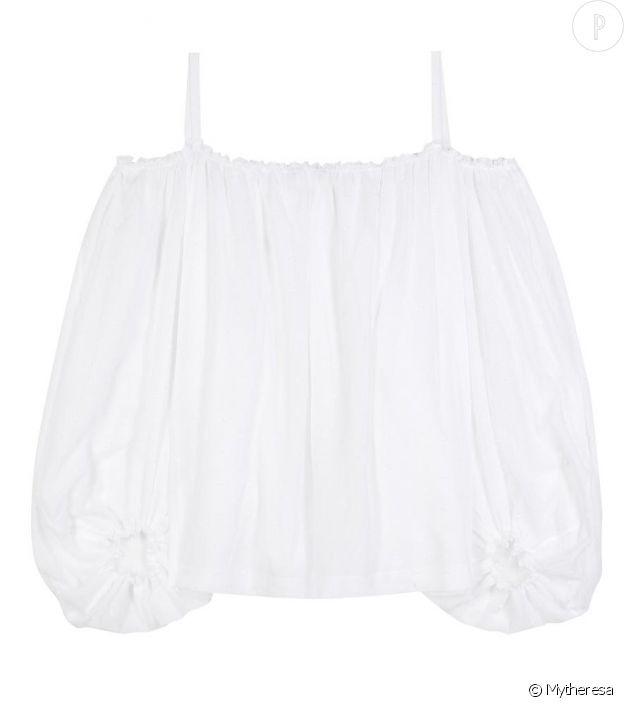 Vika Gazinskaya – Blouse en cotton, 780€.