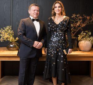 Rania de Jordanie : glamour en robe à sequins