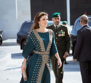 """La reine Rania de Jordanie alias """"la reine du style""""."""