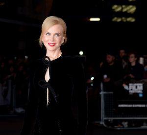 Nicole Kidman : éblouissante en robe fendue sur le tapis rouge