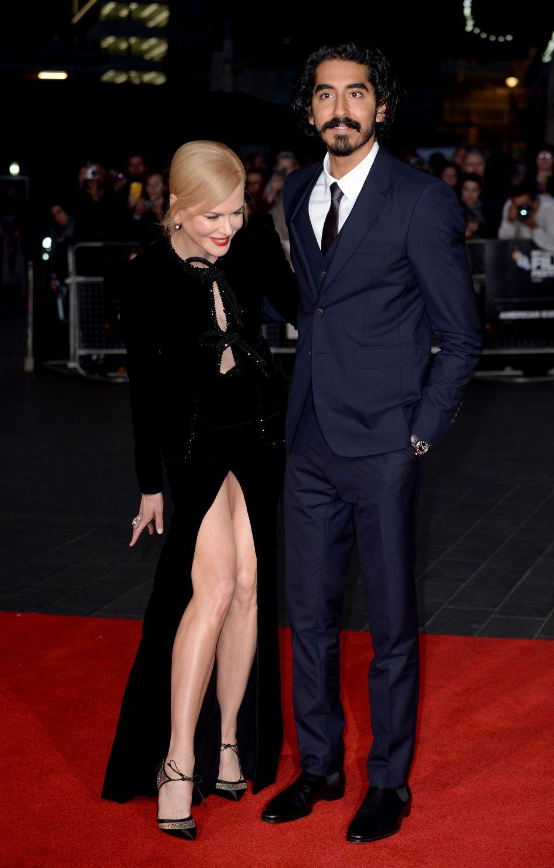 L'actrice australienne a réussi à éviter l'incident sur le tapis rouge.