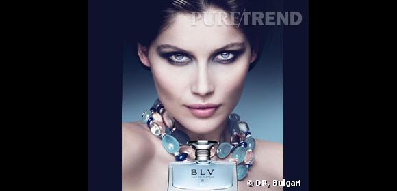 Laetitia Casta égérie du parfum BLV II pour Bulgari