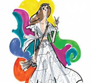 Les créateurs de mode dessinent Woodstock