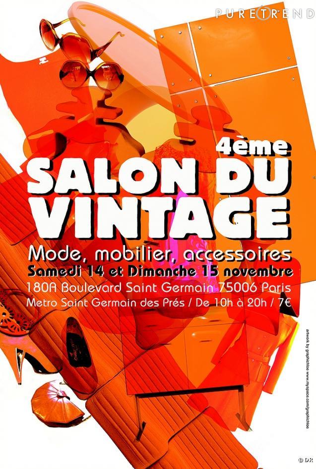 Le salon du Vintage à Paris 2009 : La mode est une tendance ?