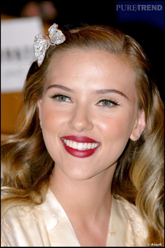 Scarlett Johansson, un vrai petit papillon