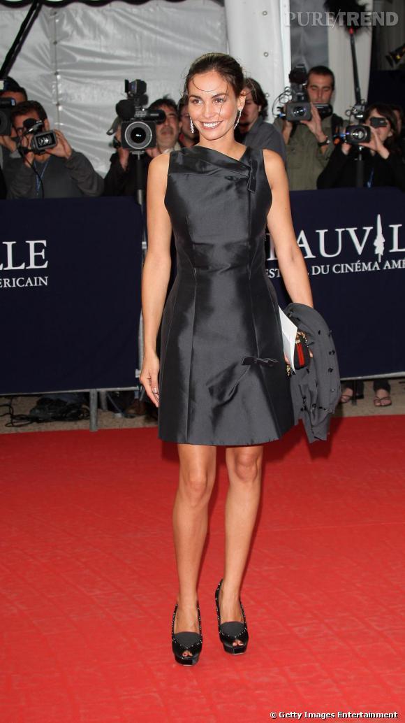 Ines Sastre au 35ème Festival du cinéma américain de Deauville