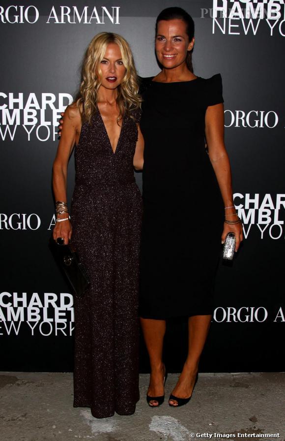 Rachel Zoé et Roberta Armani, un duo au glamour racé