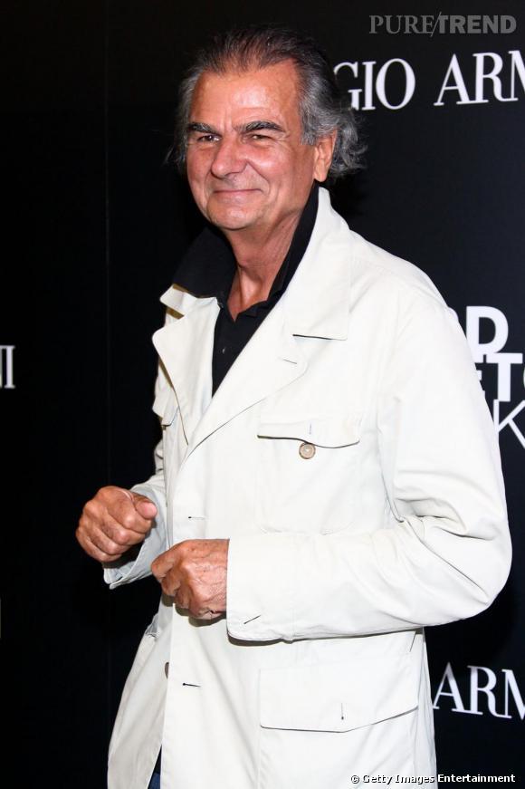 Patrick Demarchelier, l'un des grands photographes de mode, est venu admirer le travail des artistes.