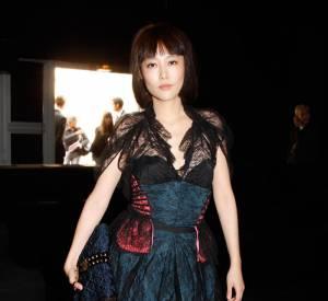 Rinko Kikuchi au défilé Louis Vuitton