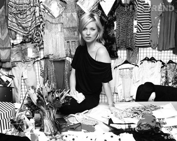 Kate Moss lance une ligne de sous-vêtements et de pyjamas.