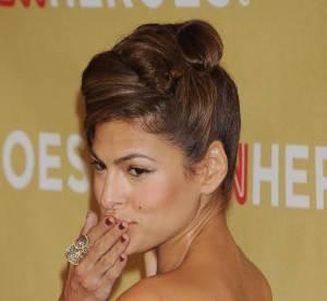 Eva Mendès : une star, dix coiffures