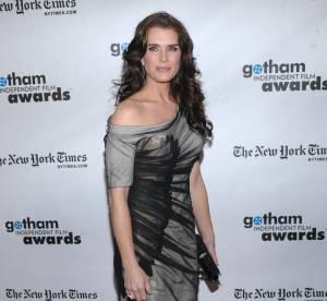 La belle Brooke Shields bouderait-elle la mode ?