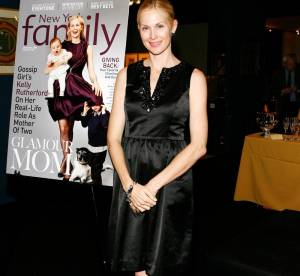 Kelly Rutherford, une maman glamour