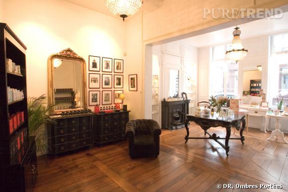 L'élégance intemporelle de la parfumerie Ombres Portées...