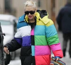 Pour Gwen Stefani, l'hiver est multicolore !