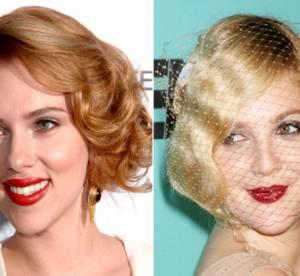 Scarlett Johansson vs. Drew Barrymore : à qui va le mieux la coiffure vintage ?