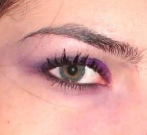 J'ai testé le Make up violet